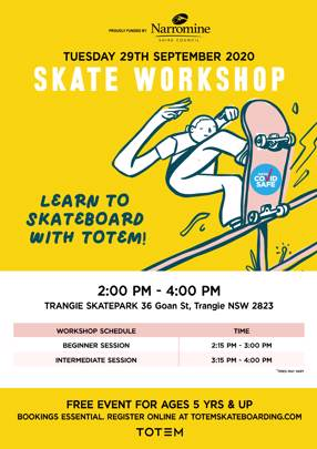 Learn to Skateboard with Totem - Trangie
