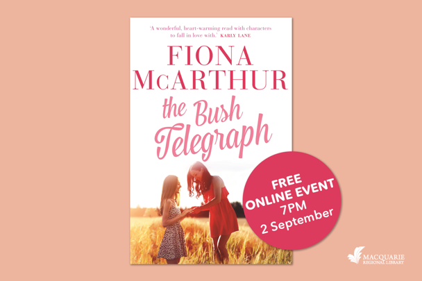 Online Author Talk with Fiona McArthur - The Bush Telegraph